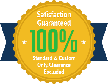We stand behind our products. Enjoy a 100% satisfaction guarantee on all standard & custom rigid insulation board or your money back.