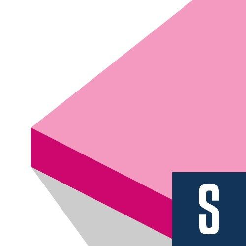FOAMULAR® PROPINK® 0.5 in x 4 ft x 8 ft R-3 Squared Edge Insulation Sheathing