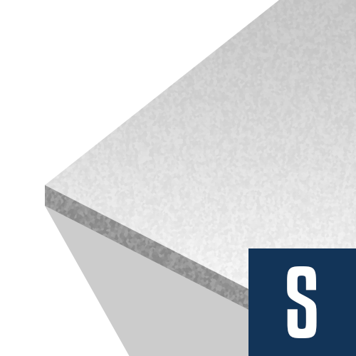 Foam Board Insulation 1 in x 4 ft x 8 ft R-4.2 EPS HalfBack